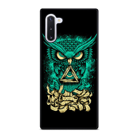 Illuminati Owl for Samsung Galaxy Note 10 Case Cover