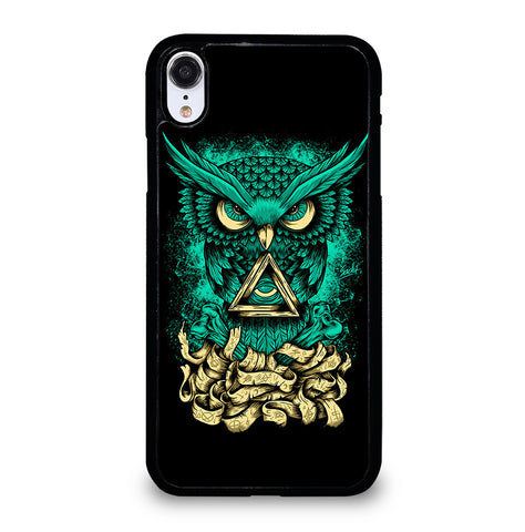 Illuminati Owl for iPhone XR Case