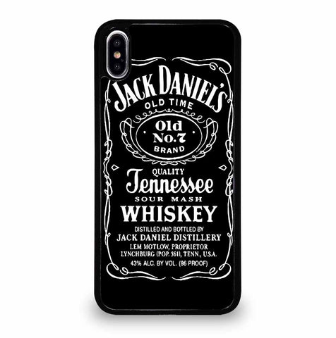 JACK DANIELS for iPhone XS Max Case Cover
