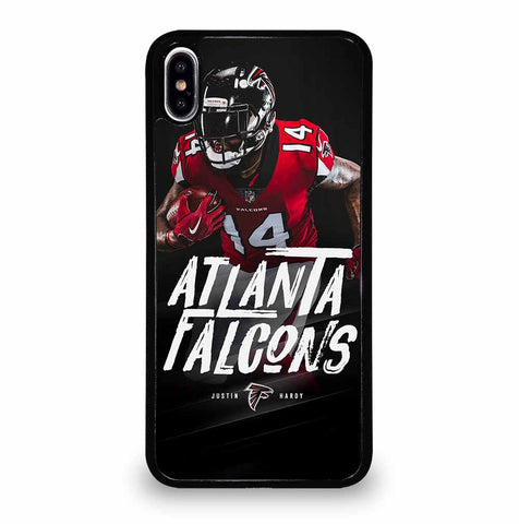JUSTIN HARDY ATLANTA FALCONS for iPhone XS Max Case Cover