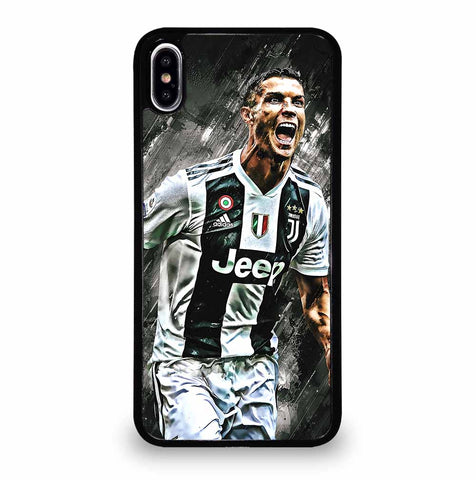 JUVENTUS CRISTIANO RONALDO for iPhone XS Max Case