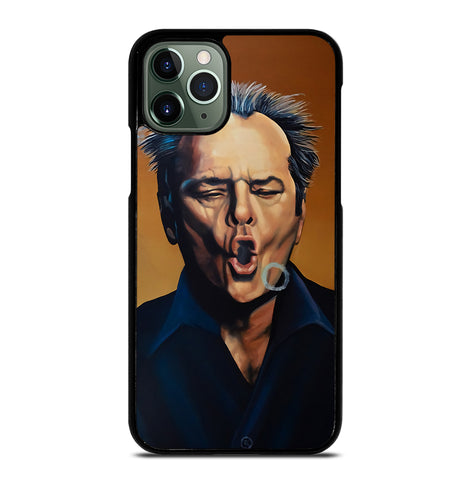 Jack Nicholson Painting for iPhone 11 Pro Max Case Cover