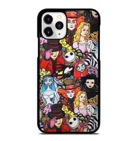 Johnny Depp Faces Characters for iPhone 11 Pro Case