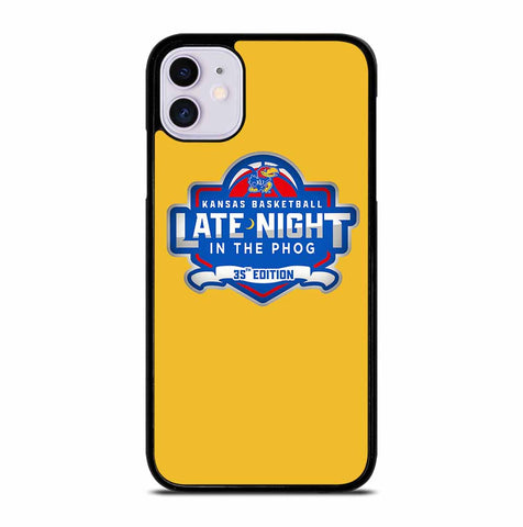 KANSAS JAYHAWKS BASKETBALL for iPhone 11 Case Cover