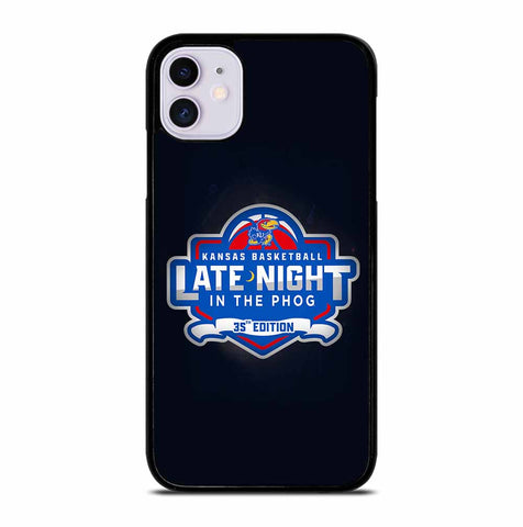 KANSAS JAYHAWKS LOGO for iPhone 11 Case