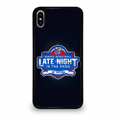 KANSAS JAYHAWKS LOGO for iPhone XS Max Case