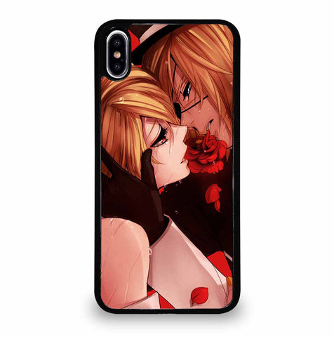 KISS AND FLOWER iPhone XS Max Case