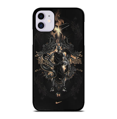 Kobe Bryant 24 Black Mamba for iPhone 11 Case Cover