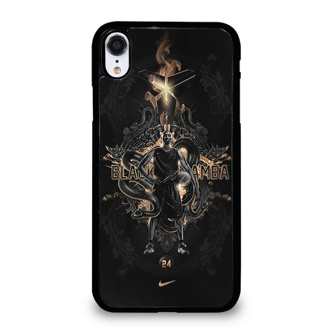 Kobe Bryant 24 Black Mamba for iPhone XR Case