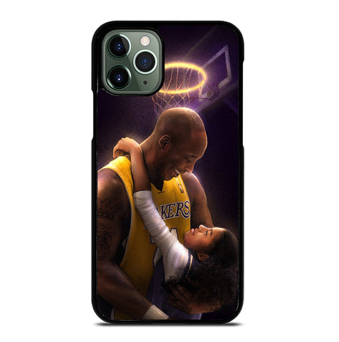 Kobe Bryant And Gigi for iPhone 11 Pro Max Case Cover