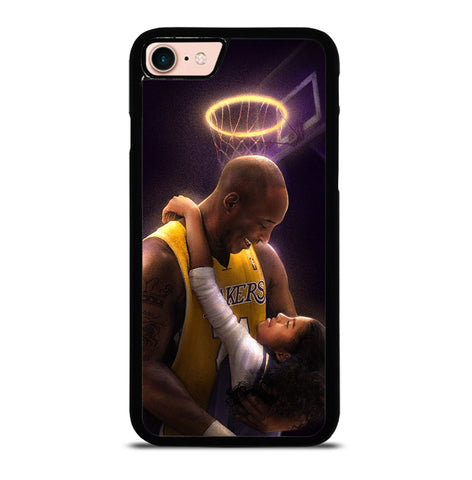 Kobe Bryant And Gigi for iPhone 7 and 8 Case Cover