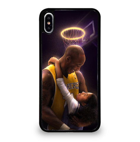 Kobe Bryant And Gigi for iPhone XS Max Case Cover