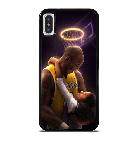 Kobe Bryant And Gigi for iPhone X or XS Case