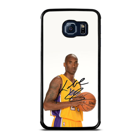 Kobe Bryant Signature for Samsung Galaxy S6 Edge Case