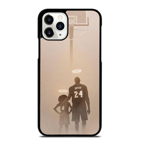 Kobe Bryant and Gianna for iPhone 11 Pro Case Cover