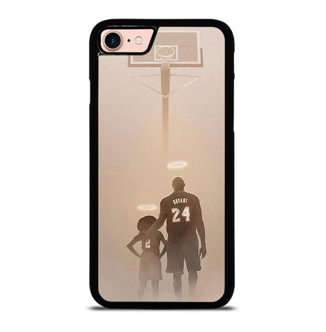Kobe Bryant and Gianna for iPhone 7 and 8 Case Cover