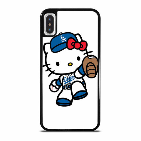 LA DODGERS HELLO KITTY iPhone X or XS Case