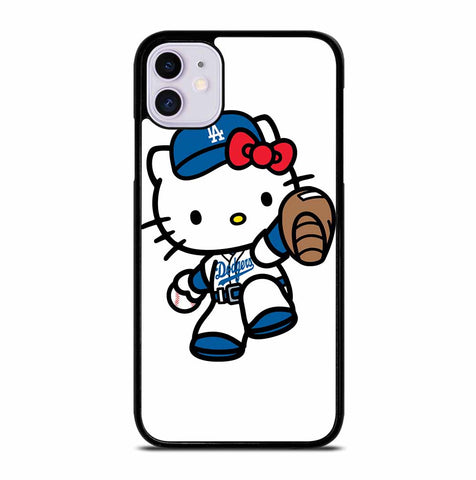 LA DODGERS HELLO KITTY iPhone 11 Case Cover