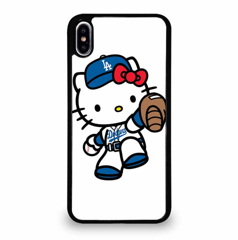 LA DODGERS HELLO KITTY iPhone XS Max Case