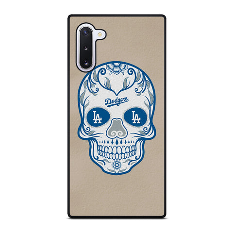 LA Los Angeles Dodgers Skull for Samsung Galaxy Note 10 Case Cover
