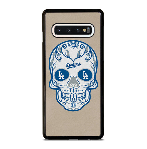 LA Los Angeles Dodgers Skull for Samsung Galaxy S10 Case Cover