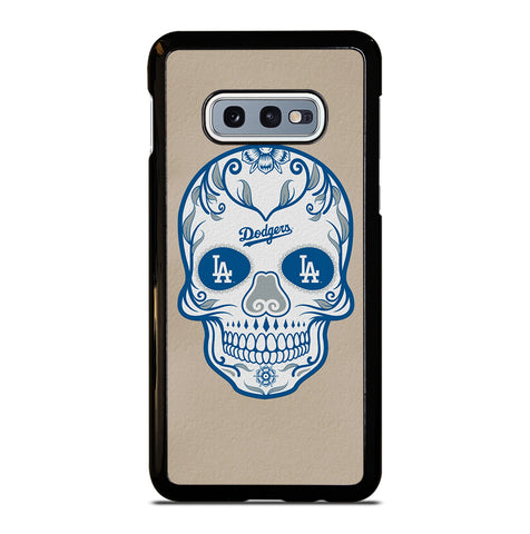LA Los Angeles Dodgers Skull for Samsung Galaxy S10e Case Cover