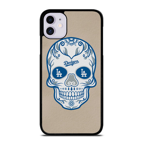 LA Los Angeles Dodgers Skull for iPhone 11 Case