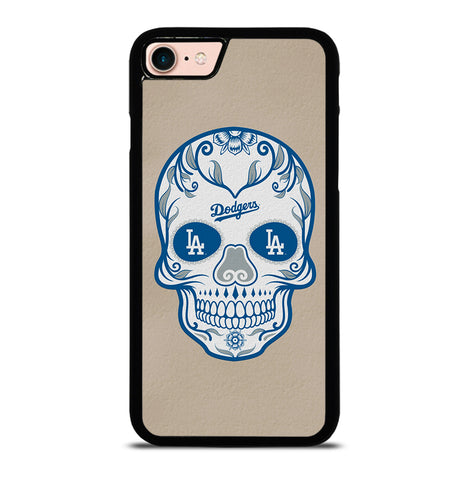 LA Los Angeles Dodgers Skull for iPhone 7 or 8 Case Cover