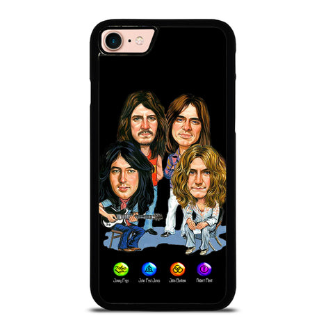 LED ZEPPELIN ZOSO SYMBOLS for iPhone 7 or 8 Case