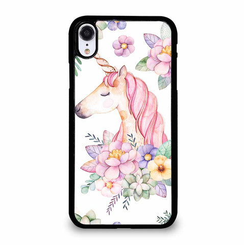 LOVELY UNICORN for iPhone XR Case Cover