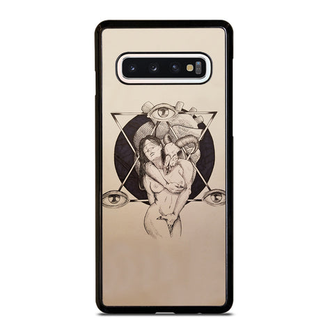 Lilith and Samael for Samsung Galaxy S10 Case Cover