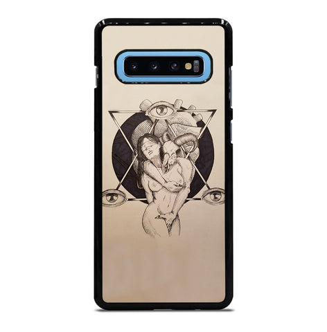 Lilith and Samael for Samsung Galaxy S10 Plus Case Cover