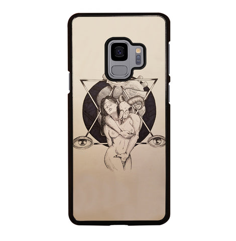 Lilith and Samael for Samsung Galaxy S9 Case Cover
