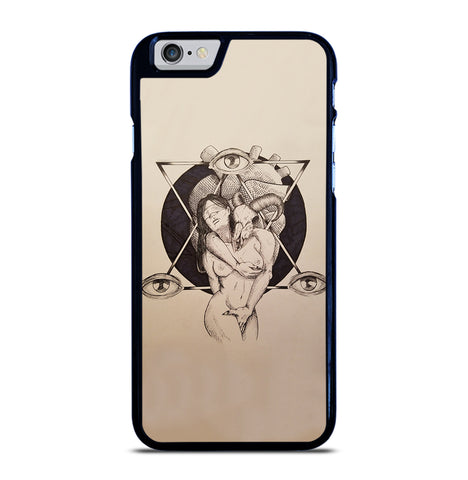 Lilith and Samael for iPhone 6 and 6S Case
