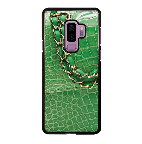 Lime Green Crocodile Classic for Samsung Galaxy S9 Plus Case