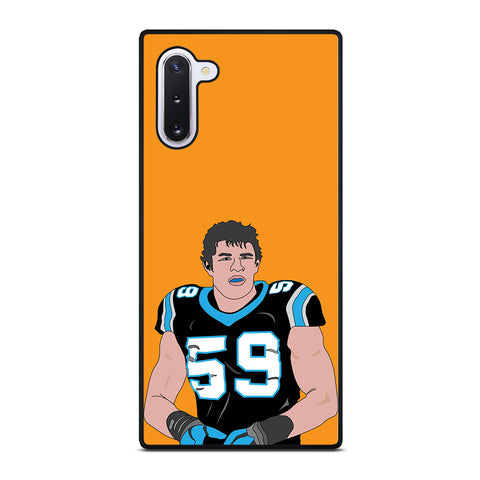 Luke Kuechly for Samsung Galaxy Note 10 Case