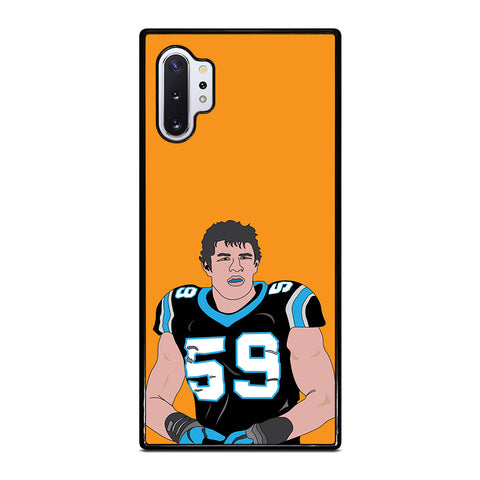 Luke Kuechly for Samsung Galaxy Note 10 Plus Case
