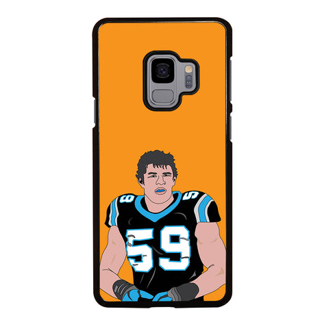 Luke Kuechly for Samsung Galaxy S9 Case