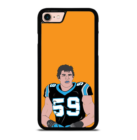Luke Kuechly for iPhone 7 and 8 Case Cover