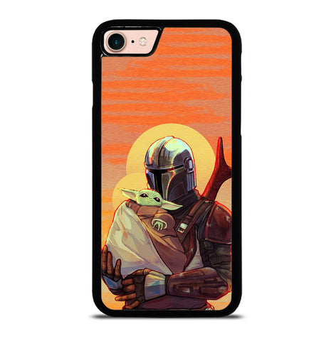MANDALORIAN BABY YODA for iPhone 7 and 8 Case