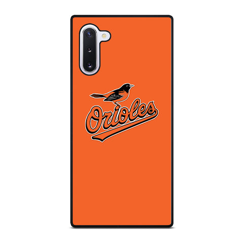 MLB Baltimore Orioles Logo for Samsung Galaxy Note 10 Case