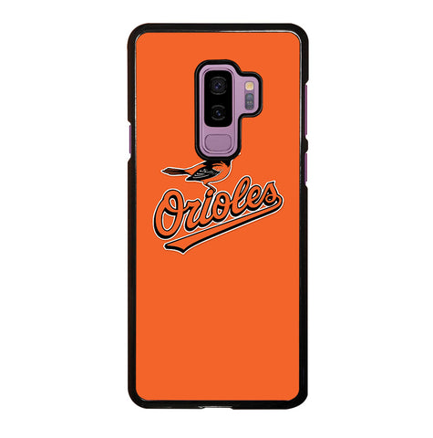 MLB Baltimore Orioles Logo for Samsung Galaxy S9 Plus Case