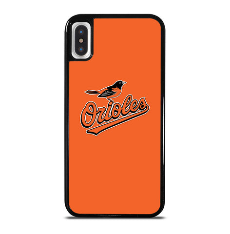 MLB Baltimore Orioles Logo for iPhone X or XS Case Cover