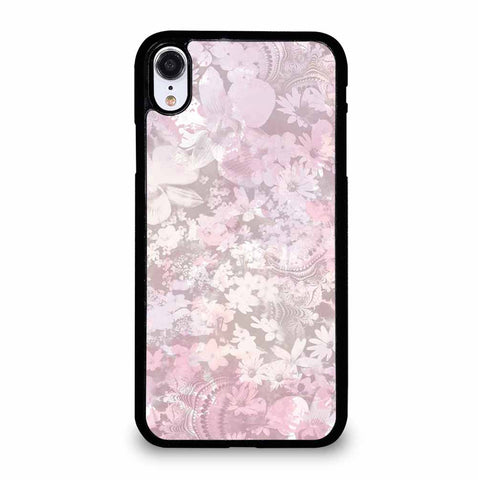 MURIVA KARINA PASTEL FLOWER PATTERN iPhone XR Case