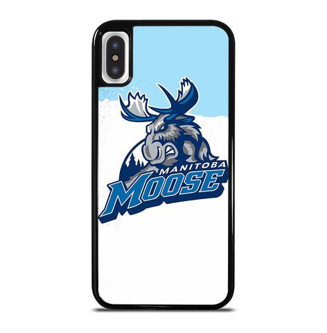 Manitoba Moose for iPhone X or XS Case