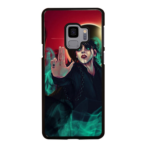 Marilyn Manson Art for Samsung Galaxy S9 Case Cover