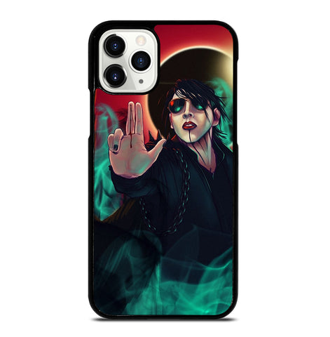 Marilyn Manson Art for iPhone 11 Pro Case Cover