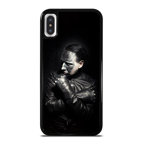 Marilyn Manson Poster for iPhone X or XS Case Cover