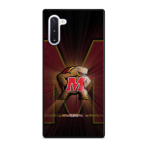 Maryland Terrapins for Samsung Galaxy Note 10 Case Cover