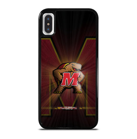 Maryland Terrapins for iPhone X and XS Case Cover